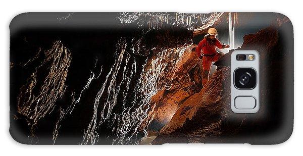 Geology Galaxy Case - Cave Explorer, Speleologist Exploring by Salajean