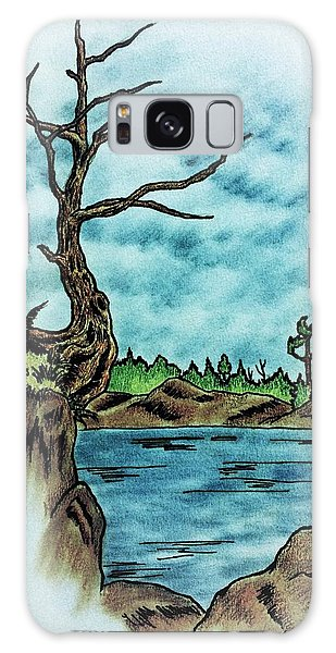 Houlton Galaxy Case - Cedar Bones by Richard John Houlton
