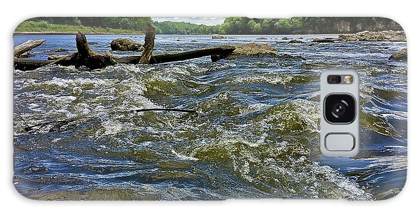Galaxy Case featuring the photograph Cedar River Iowa by Dan Miller