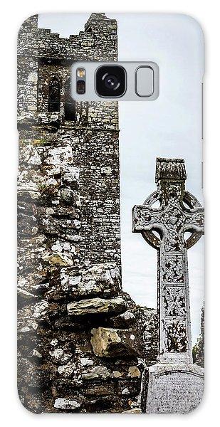 Celtic Cross At Hill Of Slane Galaxy Case