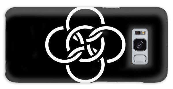 Celtic Five Fold Symbol 2 Galaxy Case