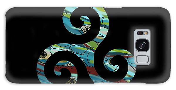 Celtic Spiral 2 Galaxy Case