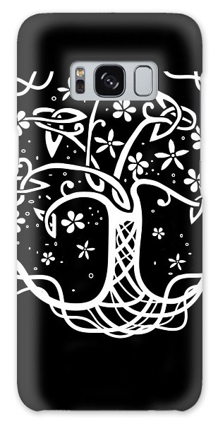Celtic Tree Of Life 3 Galaxy Case