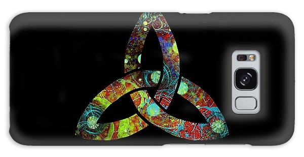 Celtic Triquetra Or Trinity Knot Symbol 1 Galaxy Case