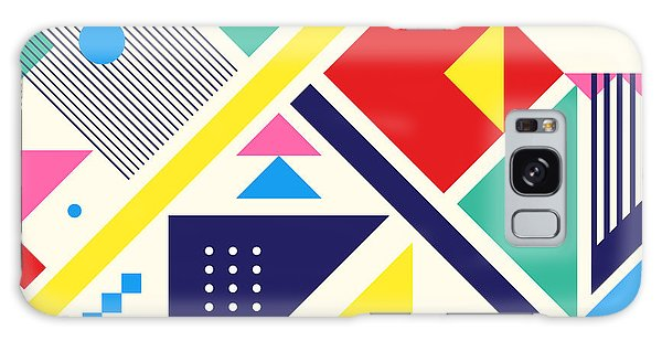 Cd Galaxy Case - Chaotic Geometry Composition. Minimal by Plasteed