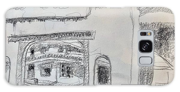 Charcoal Pencil Arch.jpg Galaxy Case