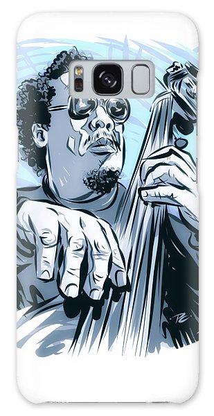 Hard Bop Galaxy Case - Charles Mingus - An Illustration By Paul Cemmick by David Richardson