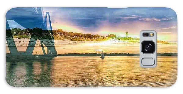 Charleston Harbor Sc Galaxy Case