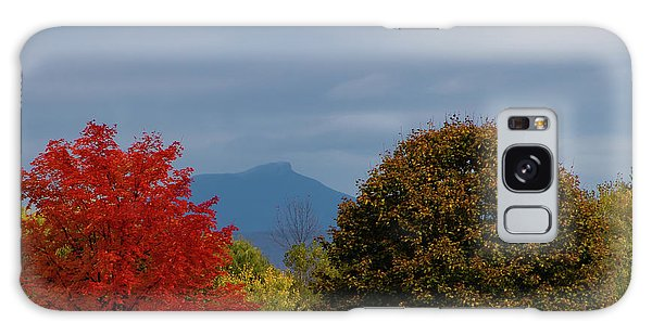 Charlotte Vermont View Of Camels Hump Galaxy Case