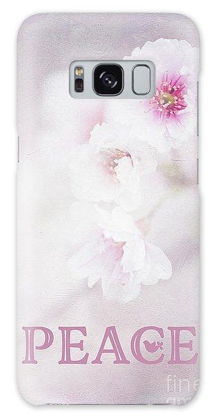Cherry Blossom Peace Art Galaxy Case