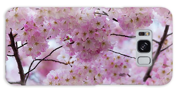 Galaxy Case featuring the photograph Cherry Blossoms 8625 by Mark Shoolery