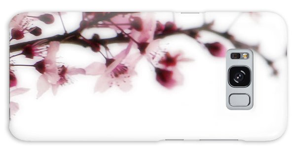 Galaxy Case featuring the photograph Cherry Triptych Right Panel by Mark Shoolery