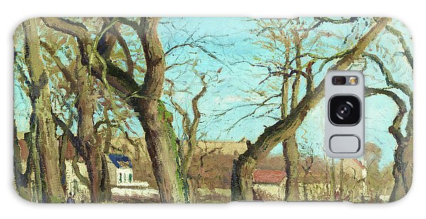 Country Living Galaxy Case - Chestnut Grove At Louveciennes - Digital Remastered Edition by Camille Pissarro