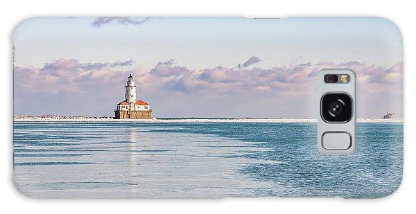 Chicago Harbor Light Landscape Galaxy Case