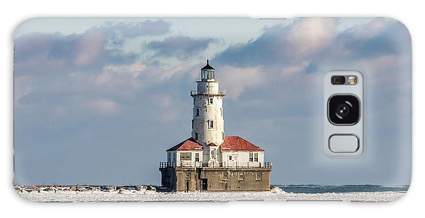 Chicago Harbour Light Galaxy Case