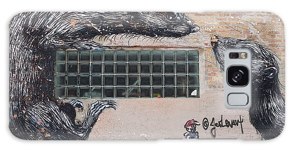 Chicago Art Galaxy Case - Chicago Street Art, Graffiti, Rats by Juli Scalzi