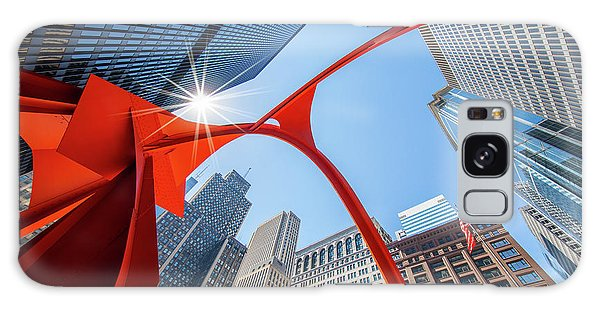 Chicago Art Galaxy Case - Chicago Upwards by Inge Johnsson