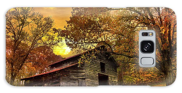 Metal Leaf Galaxy Case - Chill Of An Early Fall by Debra and Dave Vanderlaan