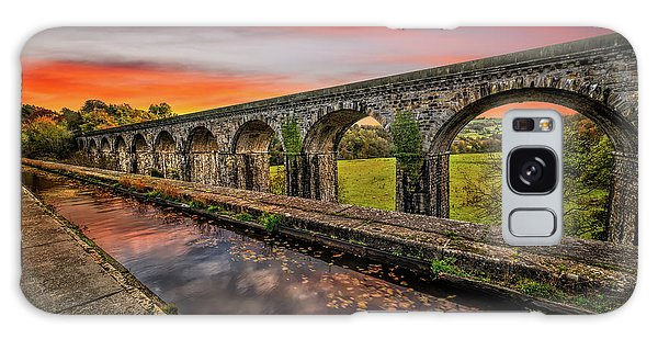 Galaxy Case - Chirk Aqueduct Sunset by Adrian Evans