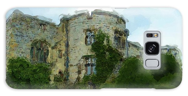 Chirk Castle Painting Galaxy Case