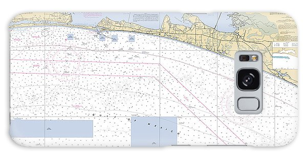 Choctawhatchee Bay Noaa Chart 11388 Galaxy Case