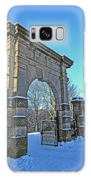 Chorley. Gates In The Snow Galaxy Case