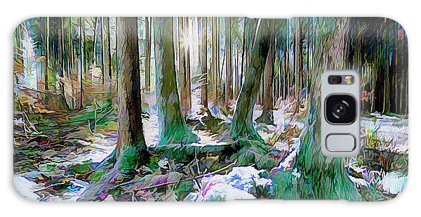 Galaxy Case featuring the digital art Chorus Of Trees by Edmund Nagele