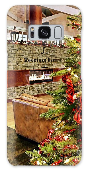 Christmas At Woodford Reserve Galaxy Case