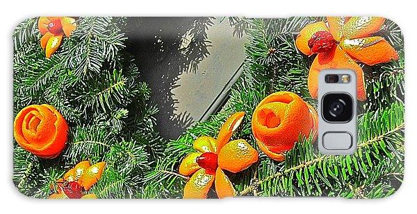 Christmas Citrus Galaxy Case