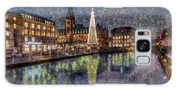 Christmas Hamburg Galaxy Case
