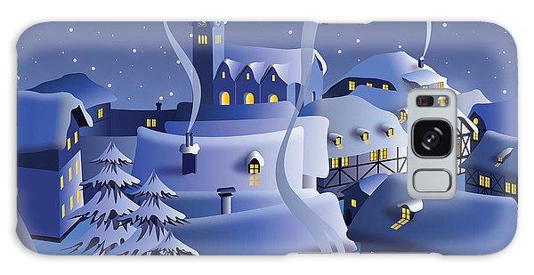 Wrap Galaxy Case - Christmas Night by Nikola Knezevic
