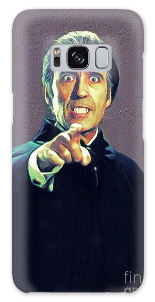 Dracula Galaxy Case - Christopher Lee As Dracula by John Springfield