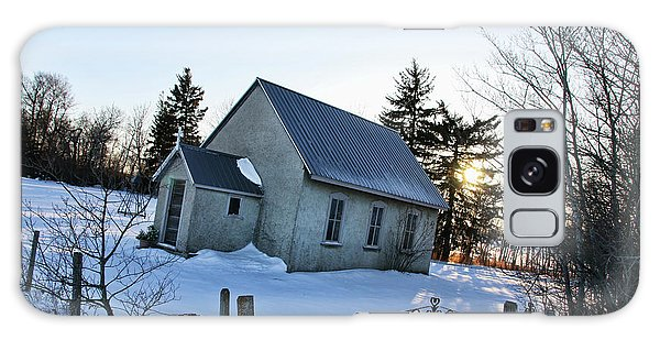 Church On Brewer Road Galaxy Case