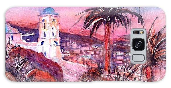 Church On Ios Island Greece Galaxy Case