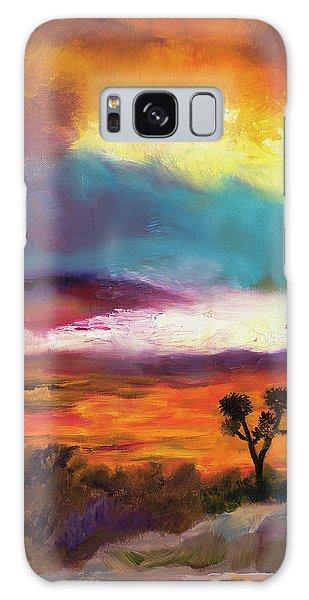 Cindy Beuoy - Arizona Sunset Galaxy Case