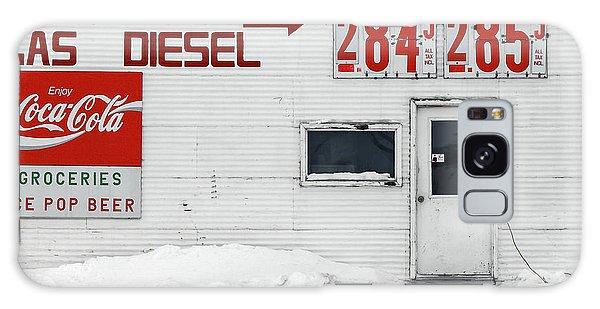 Cold Day Galaxy Case - Circle, Montana by Todd Klassy