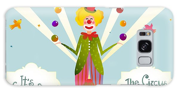 Event Galaxy Case - Circus Juggling Clown Carnival Show by Popmarleo