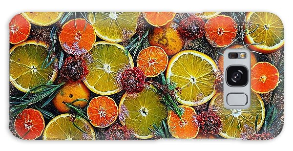 Citrus Time Galaxy Case