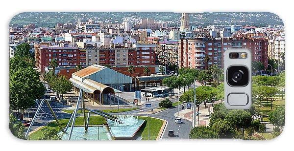 Cityscape In Reus, Spain Galaxy Case