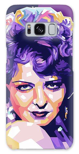 Clara Bow Pop Art Galaxy Case