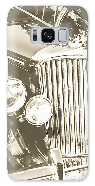Vintage Cars Galaxy Case - Classic Car Chrome by Jorgo Photography - Wall Art Gallery