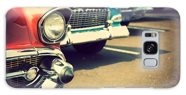 Automobile Galaxy Case - Classic Cars In A Row by Topseller