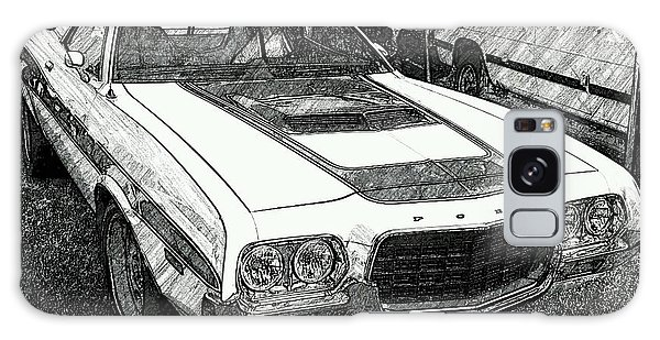 Classic Ford Sketch Galaxy Case