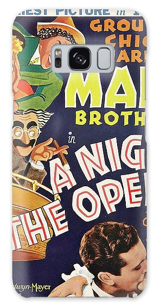 Brothers Galaxy Case - Classic Movie Poster - A Night At The Opera by Esoterica Art Agency
