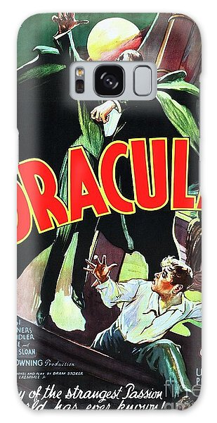Dracula Galaxy Case - Classic Movie Poster - Dracula by Esoterica Art Agency