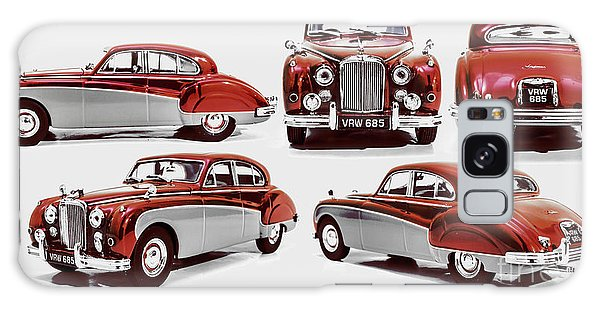 Vintage Cars Galaxy Case - Classically British by Jorgo Photography - Wall Art Gallery