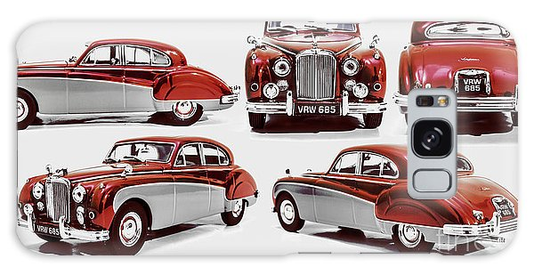Old Car Galaxy Case - Classically British by Jorgo Photography - Wall Art Gallery