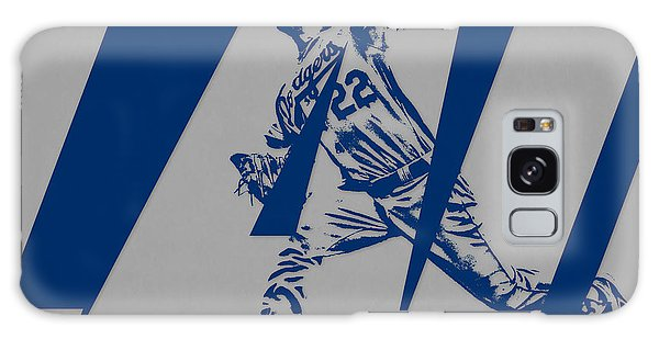 Clayton Galaxy Case - Clayton Kershaw Los Angeles Dodgers City Art 2 by Joe Hamilton