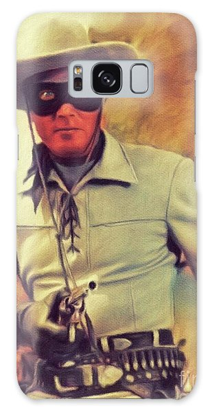 Clayton Galaxy Case - Clayton Moore, Vintage Actor by John Springfield