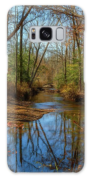 Galaxy Case featuring the photograph Clear Path by Cindy Lark Hartman